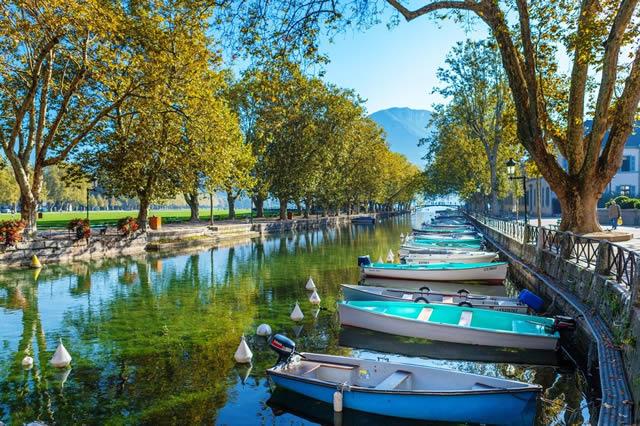 Les canaux d'Annecy