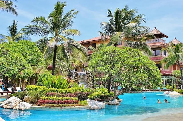 Nusa Dua à Bali en Indonesie