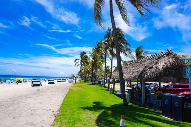 Plage et océan en Martinique