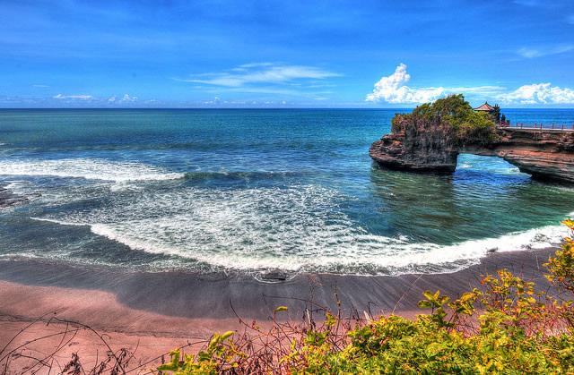 Plage et paysage à Bali