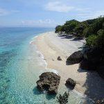 Belle vue d'une plage aux Philippines