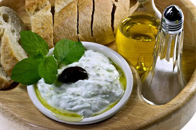 Sauce tzatziki Grec