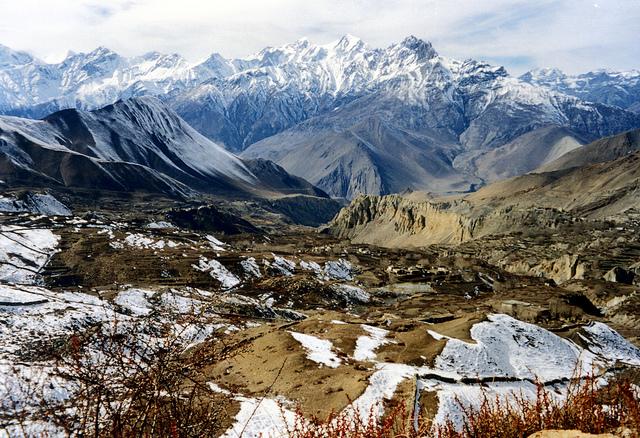 Le sanctuaire des Annapurnas au Népal