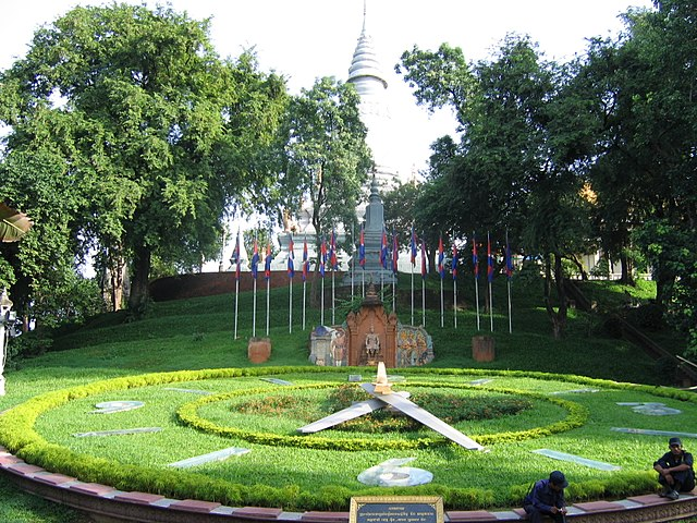 Pagode bouddhiste de Wat Phnom