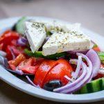 Salade à l'oignon grecque
