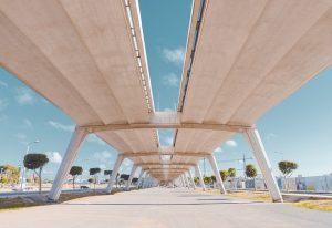 Architecture du Pont de Rabat au Maroc