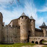 La cité médiévale de Carcassonne en Occitanie