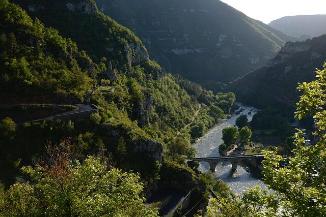 Les Gorges du Tarn en Occitanie