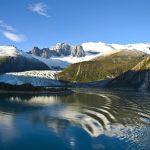 Paysage pour une croisière en Patagonie