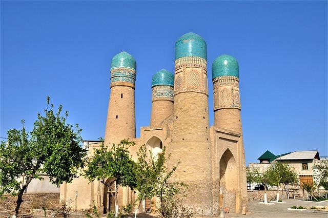Boukhara à Ouzbékistan en Asie centrale