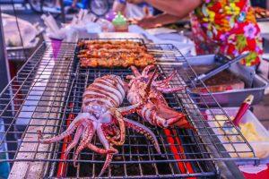 Calamars grillés croate