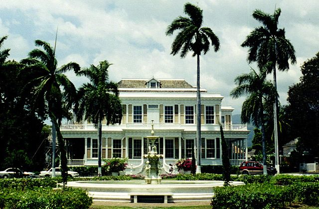 Devon House à Kingston en Jamaïque