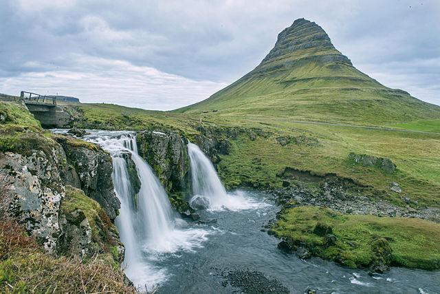 Kirkjufell en Islande, tournage de game of tho