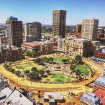 Le Church Square à Pretoria en Afrique du sud