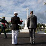 Le jardin botanique le National Heroes Park à Kingston en Jamaïque