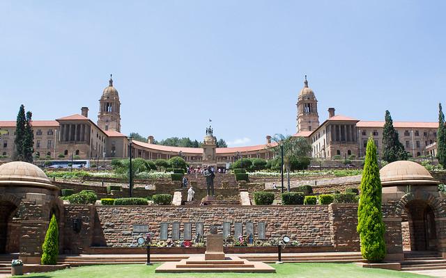 Les Union buildings à Pretoria en Afrique du sud