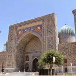 Ouzbékistan Mosquée de Samarkand Registan