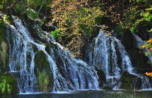Plitvice, paysage nature en Croatie