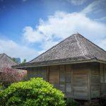 Bungalows à Yap en Micronésie