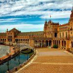 La Plaza à Séville en Espagne