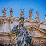 La basilique de Saint-Pierre du Vatican en Italie