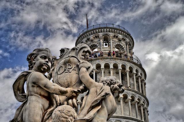 La tour de Pise en Italie