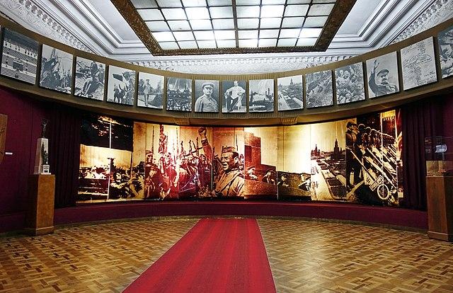 Le musée Joseph Staline à Gori en Géorgie