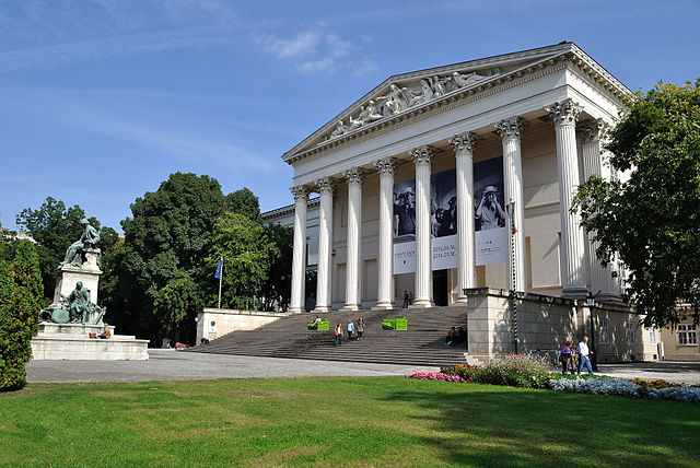 Le musée national hongrois à Budapest