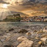 Une image magnifique de Parga en Grèce occidentale