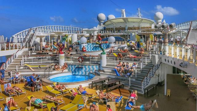 Des vacances sur un bateau de croisière