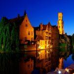 Le centre historique de Bruges en belgique