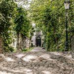 Le ponde de pierre à Bruges au Belgique
