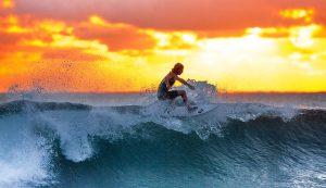 Activité nautique à faire, le surf