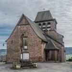 L'église de Saint Hilary de Pruines