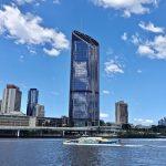 La Brisbane River à Brisbaneen Australie