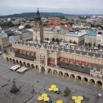 La Halle Aux Draps Sukiennice à Cracovie enb Pologne