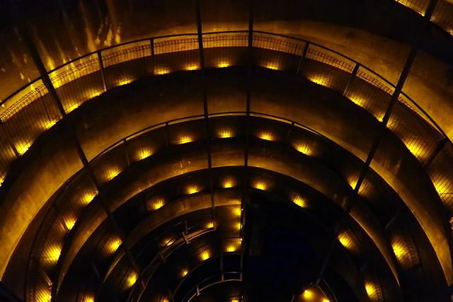 La descente vers le tunnel de Ruakuri
