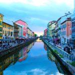 La superbe ville de Milanen Italie