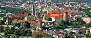 Le château du Wawel à Cracovie en Pologne