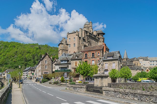 Le chateau d'Estaing à Aveyron