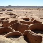 Les ruines de Tulor au Chili