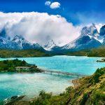 Paysage au Chili