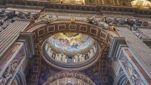 La basilique du Vatican a Rome