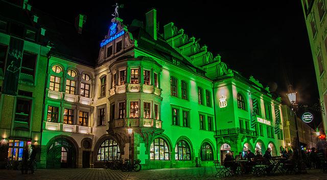 La brasserie bavaroise Hofbrauhausde Munich