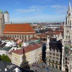 Le centre historique Marienplatza Munich