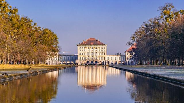 Le chateau de Nymphenburga Munich