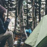 Petit dejeuner en camping