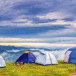 Point de rassemblement de camping