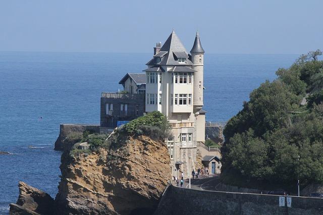 Architecture de la Villa Belza Pays Basque Biarritz