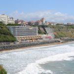 Biarritz plage Basque